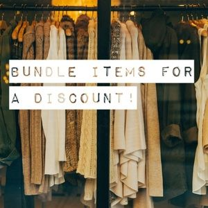 Bundle items together to get a % off!